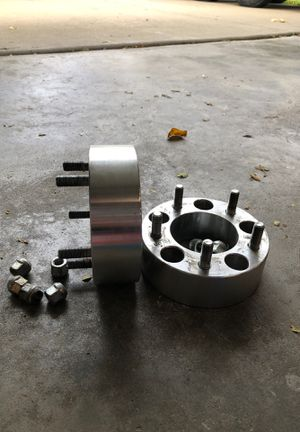 """2"""" Jeep wrangler/cherokee wheel spacers for Sale in Glenview, IL"""