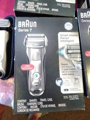 Braun shaver series 7 new for Sale in Modesto, CA