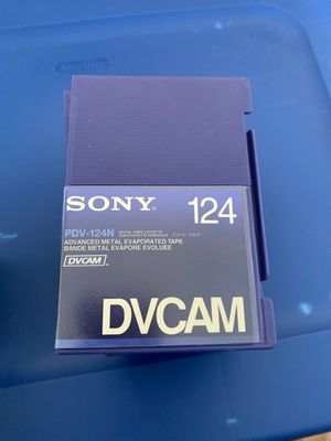 Sony (2 PDV-124N Video Cassettes) (3 PDV-94N Video Cassettes) (1 PDV-64N Video Cassette) for Sale in San Francisco, CA