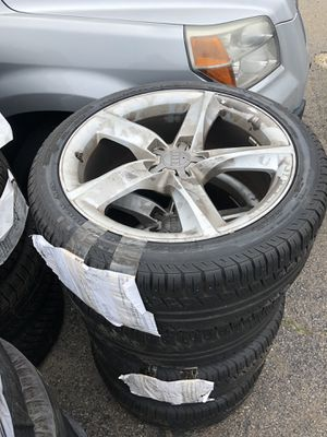 Audi A8 wheels with tires for Sale in Boston, MA