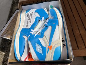Air Jordan 1 Off-White NRG UNC Size 12 for Sale in Lakeland, FL