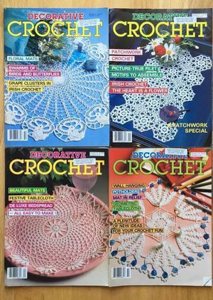 Lot 4 Decorative Crochet magazines for Sale in Steilacoom, WA
