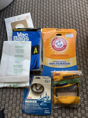 Vacuum cleaner belts and bags new for Sale in San Diego, CA