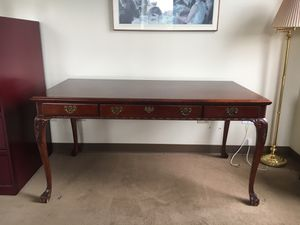 Antique solid mahogany desk for Sale in Los Angeles, CA