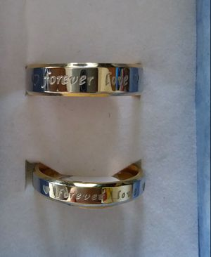 Offer new rings set $14 sizes 5 to 14 for Sale in Manteca, CA