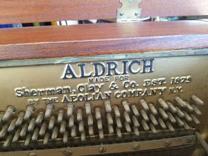 Vintage piano for Sale in Garden Grove, CA