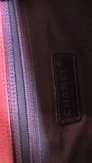 Chanel Handbag Boy Quilted Medium Caviar Red Calfskin Leather Cross Body Bag for Sale in Sacramento, CA