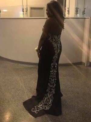 Black formal gown/prom dress for Sale in Philadelphia, PA