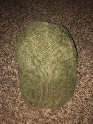 NEVER WORN dark green corduroy cap for Sale in Denton, TX