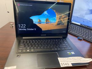 "Samsung 15.6"" Windows 10 notebook 9 laptop with graphics card for Sale in Richmond, VA"