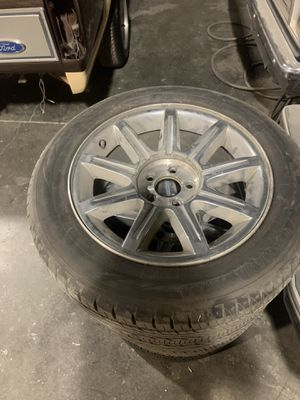 Chrysler 300 rims and tires almost new $300 for Sale in Watsonville, CA