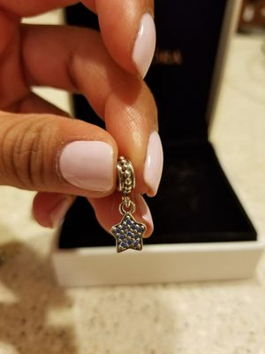 Pandora Charm-Hanging Blue Star for Sale in Chicago, IL