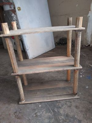 Small wooden shelf for Sale in Morada, CA