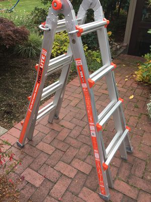 Little Giant Megalite 17f multi function ladder for Sale in WA, US