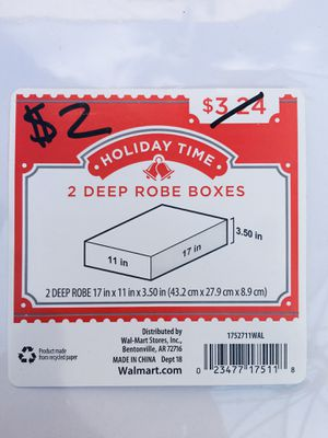 2 big gift boxes ! Measurements on the picture for Sale in Huntington Park, CA