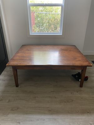 Beautiful Large Reclaimed Wood Coffee Table for Sale in Inglewood, CA