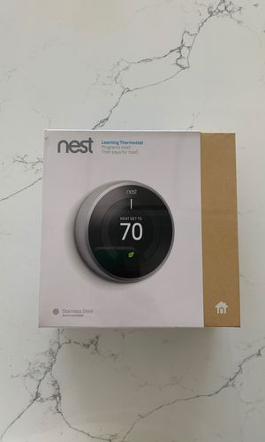 Nest Learning Thermostat 3rd Generation New in Box for Sale in Milwaukie, OR
