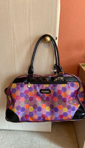 Travel Bag (with wheels) by Kathy Van Zeeland (like new) for Sale in Milwaukie, OR