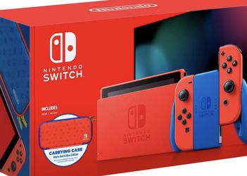 Nintendo Switch Mario Red And Blue Edition for Sale in Miami,  FL