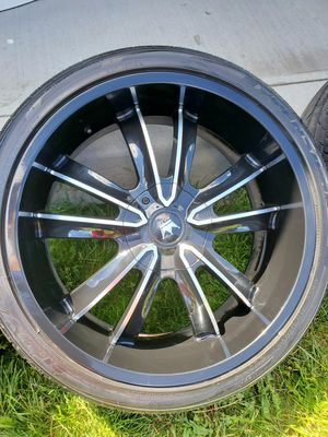 "22"" rims and tires for Sale in Columbus, OH"