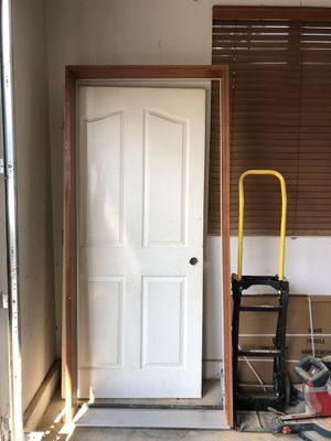 Garage entry door with frame for Sale in Bonney Lake, WA