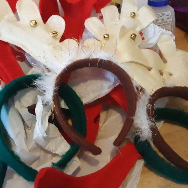19 Reindeer Headbands