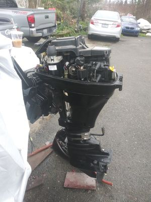 15hp big foot electric start and manual for Sale in Seattle, WA