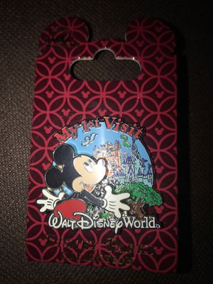 Disney Parks My 1st Visit Walt Disney World Mickey Mouse Pin On Card for Sale in Las Vegas, NV
