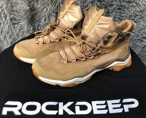ROCKDEEP RAX OUTDOOR HIKING SNEAKER BOOTS sizes 10.5 and 11 for Sale in Alexandria, VA