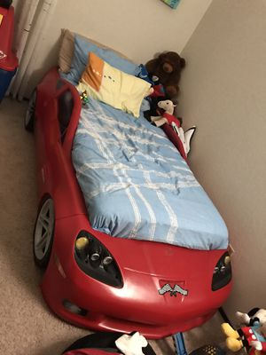 Boys Car Bed Frame (Mattress not included) for Sale in Fremont, CA