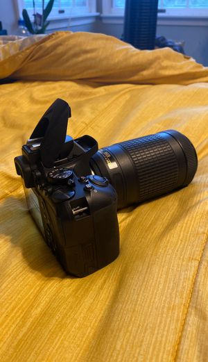 Nikon D3500 w/ 70-300mm lense for Sale in Freehold, NJ