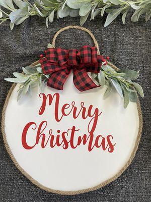 Merry Christmas Door Hanger for Sale in Long Beach, CA