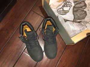 Timberlands boots, black, womens 7/ mens 5 for Sale in Orlando, FL
