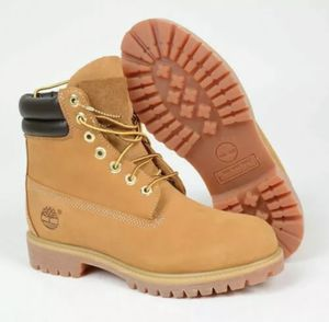"""Timberland Mens 6"""" Inch PREMIUM Waterproof WORK BOOTS Double Sole 73540 Mens 8.5 for Sale in Clearwater, FL"""