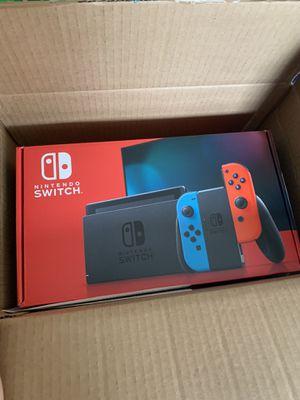 Nintendo Switch OG V2 Neon Red/Blue BRAND NEW for Sale in New York, NY