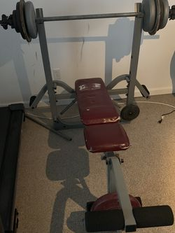 Weight Bench And Weights for Sale in Amherst,  VA