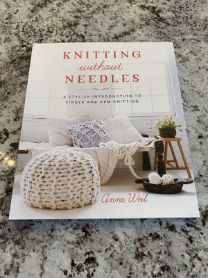 625bec6a78f3 New book never used Knitting without Needles for Sale in Lynnwood