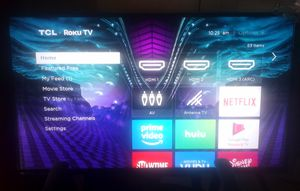TCL Smart Roku TV for Sale in Richardson, TX