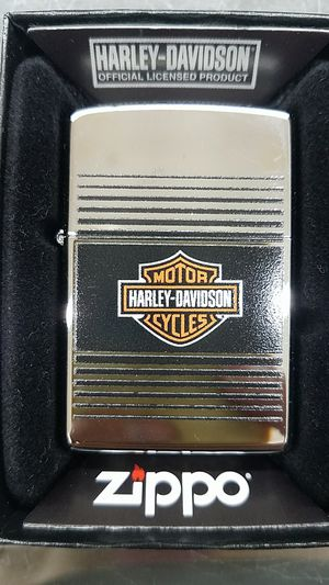 Zippo Harley Davidson high polished chrome 49064 for Sale in Los Angeles, CA