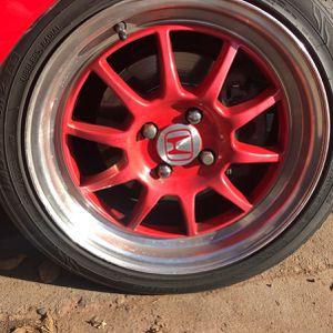 Honda Civic Rims 4x100 for Sale in Fresno, CA