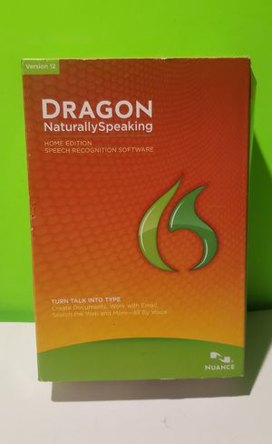 Dragon Naturally Speaking Home Edition 12 for Sale in Reinholds, PA