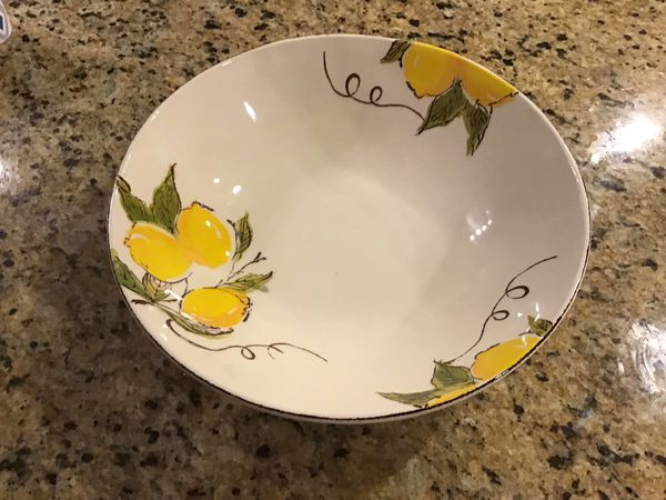 "12"" Pasta Bowl by Papart Ceramic"