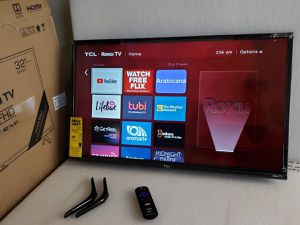 """TCL 32"""" 32S327 Class LED 3-Series 1080p Smart -HDTV Roku TV for Sale in Arlington, TX"""