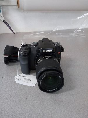 Sony dslr-a100 digital camera with 2 lenses and carry case. for Sale in Oak Grove, OR