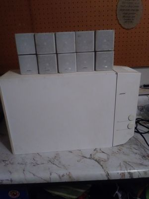 Bose Acustimas WHITE speakers. for Sale in Columbus, OH