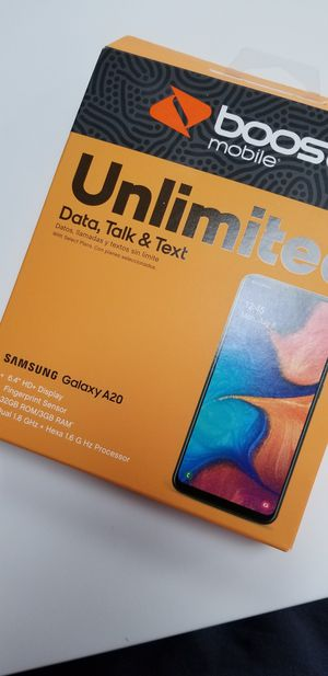 *BOOST MOBILE *Samsung A20 FREE when you switch!! for Sale in Port St. Lucie, FL