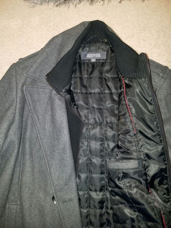 Xtra Large Kenneth Cole wool coat
