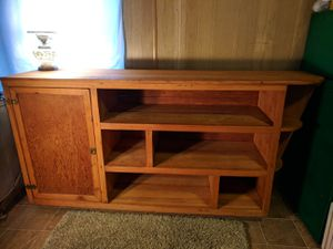 Shelves with cabinet for Sale in South Zanesville, OH