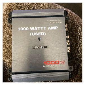 1000 WATT AMP for Sale in Woodbridge, VA