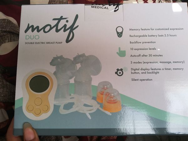 Motif Duo Breast Pump With Backpack